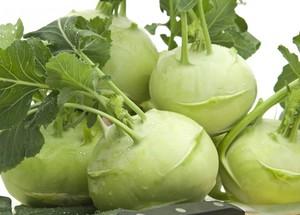 Чем полезна кольраби капуста
