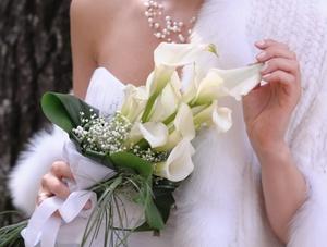 Цветы каллы на свадьбу приметы