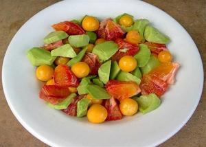 С чем едят овощноц физалис