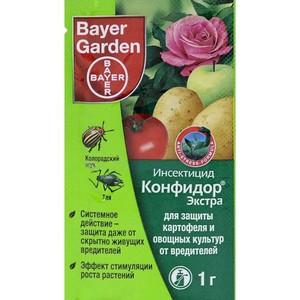 Препарат Конфидор характеристики и преимущества инсектицида, инструкция по применению