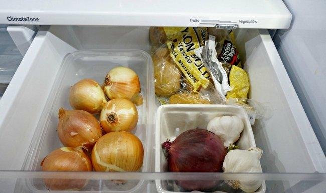 Хранение чеснока в холодильнике