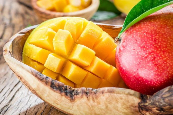 Мякоть манго