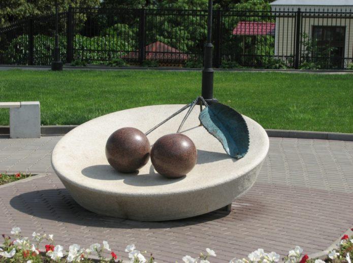 Памятник Владимирской вишне