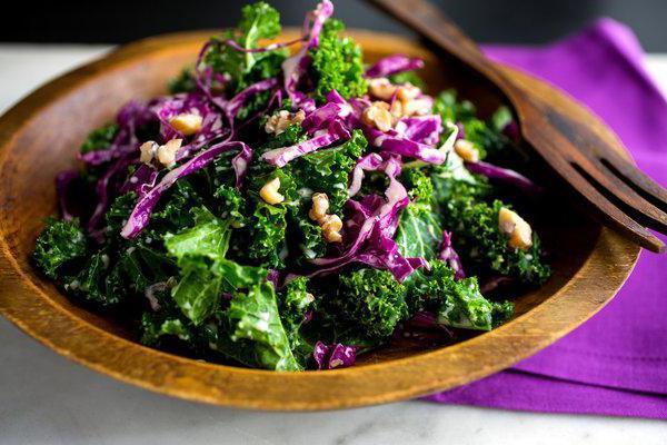 Салат из декоративной капусты