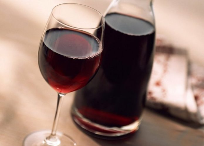 Домашнее вино из винограда Рошфор