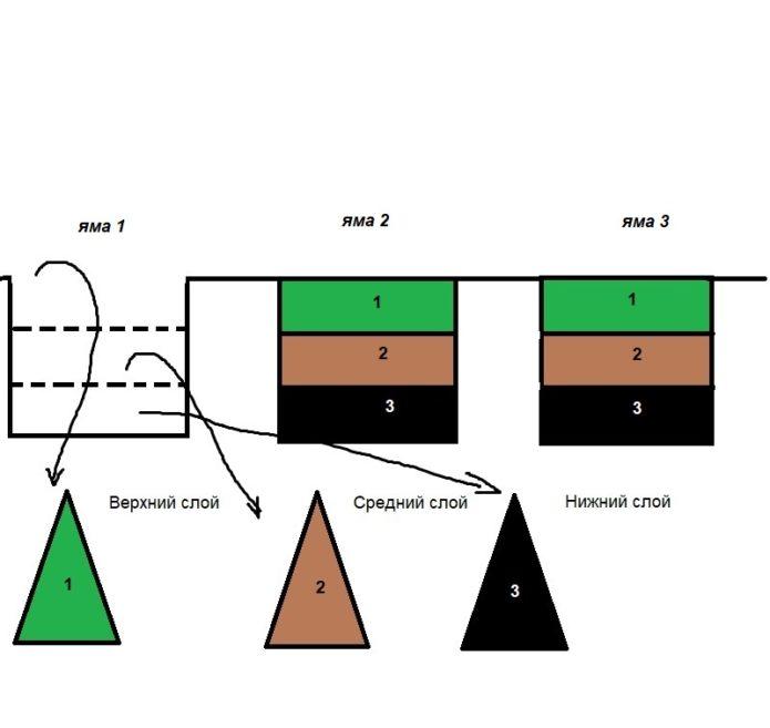 Первый этап плантажа