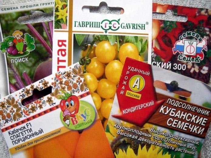 Производители семян в России