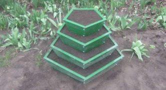 Пирамида для выращивания земляники