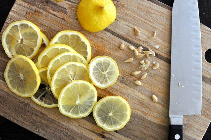 Лимон и семена