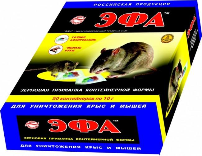 Приманка для мышей Эфа