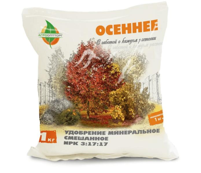 комплексное удобрение «Осеннее»