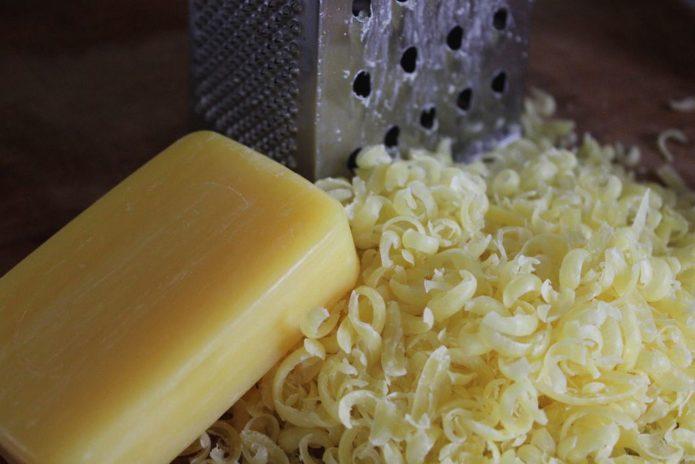 Приготовление раствора мыла и соды