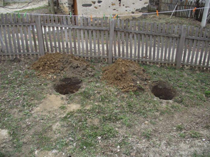 Посадочные ямы