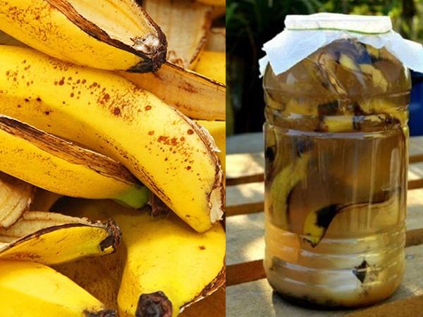 Настой из банановых шкурок