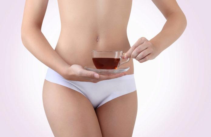 Чай при похудении